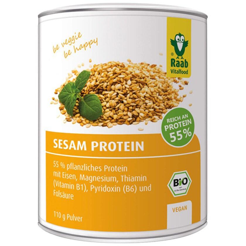 Raab Vitalfood Sesam Protein Pulver 110g
