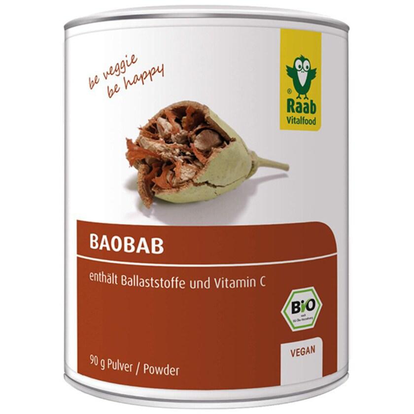Raab Vitalfood Baobab Pulver 90g