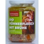 Gut Krauscha Hühnerfleisch mit Brühe Bio 320g