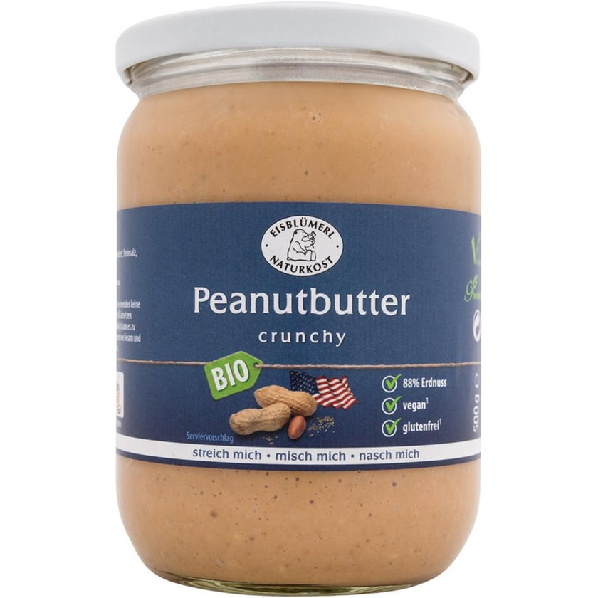 Eisblümerl Peanutbutter crunchy 500g
