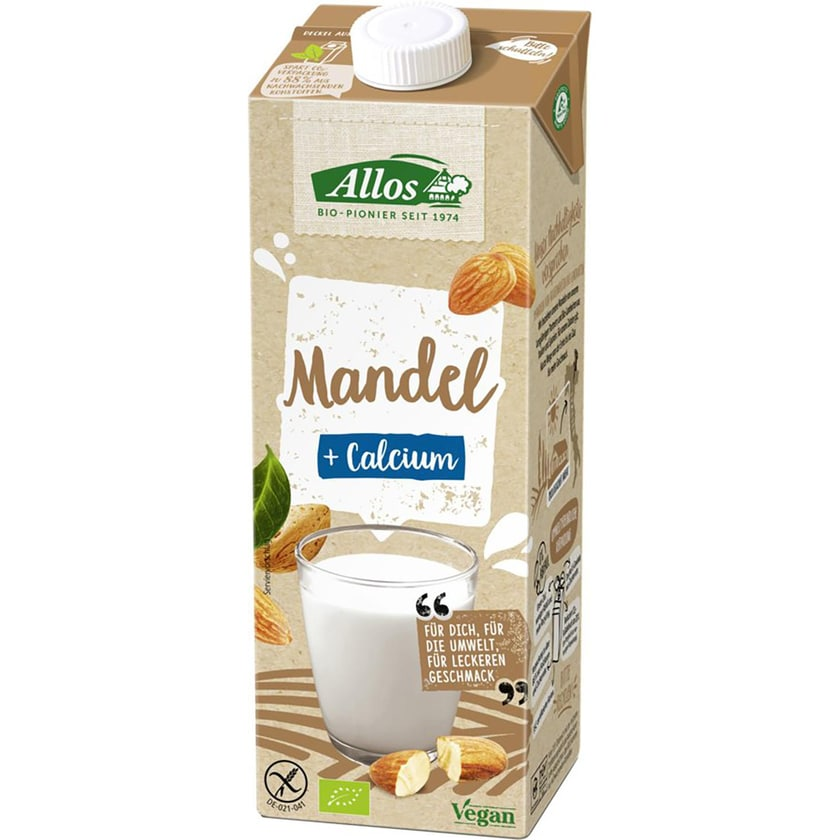 Allos Mandel Drink + Calcium 1l