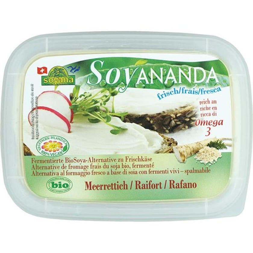 Soyana Soyananda Bio Frischer Aufstrich Meerrettich 140g