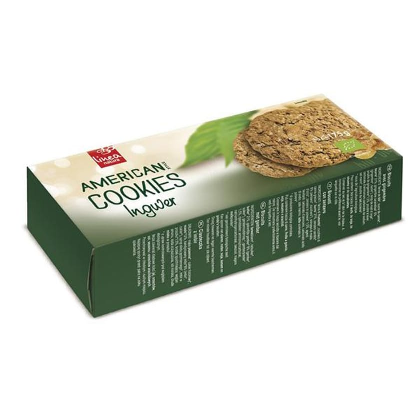 Linea Natura American Ingwer Cookies 175g