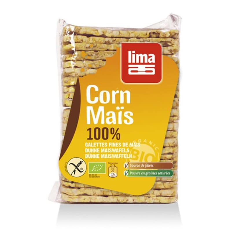 Lima Maiswaffeln eckig 140g