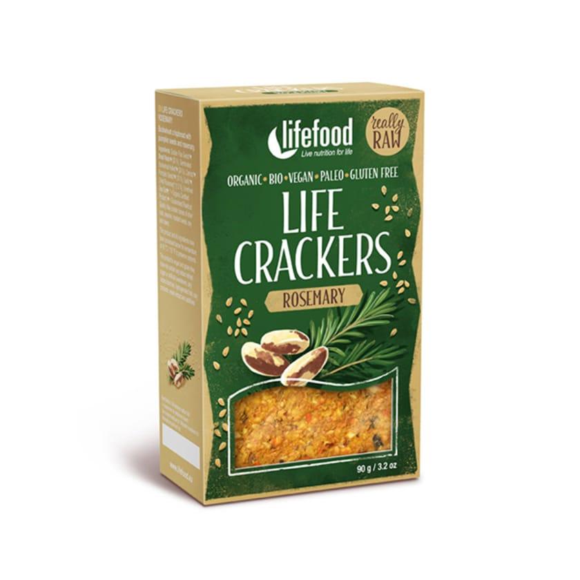Lifefood Bio Pikantbrot Rosmarin 100g