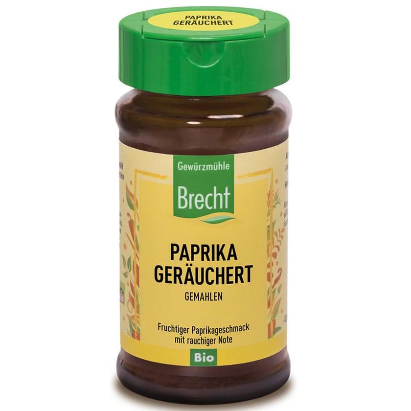 Brecht Paprika geräuchert, gemahlen 40g Bio