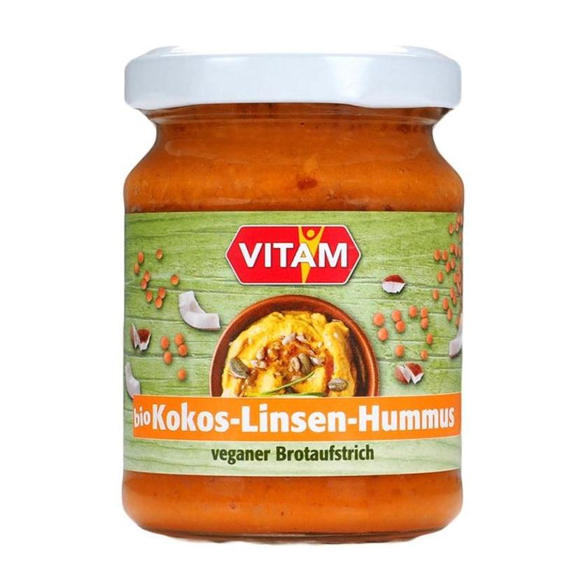 Vitam Bio Hummus Kokos Linsen 115g