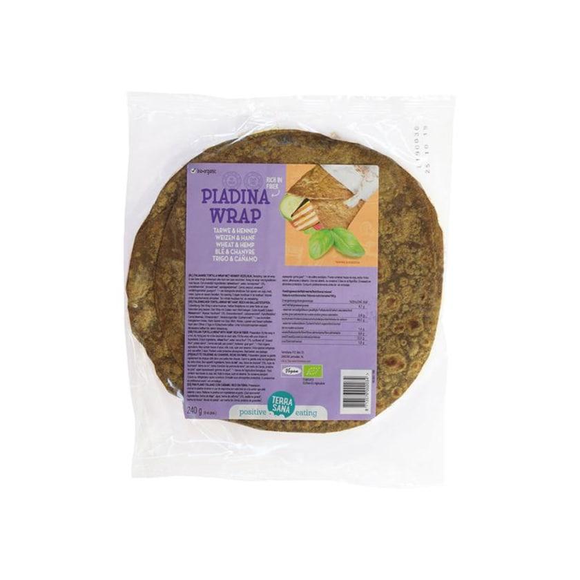 Terrasana Piadina Wrap Weizen und Hanf 240g