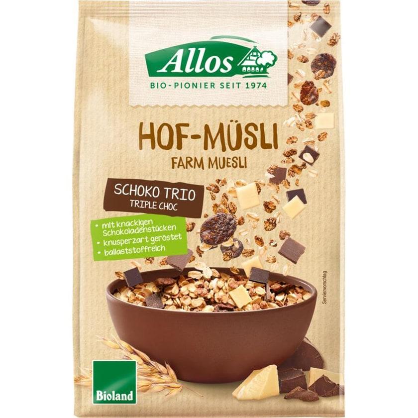 Allos Hof Müsli Schoko-Trio 375g