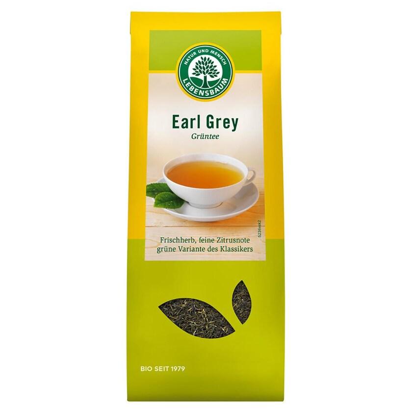 Lebensbaum Grüntee Earl Grey 50g