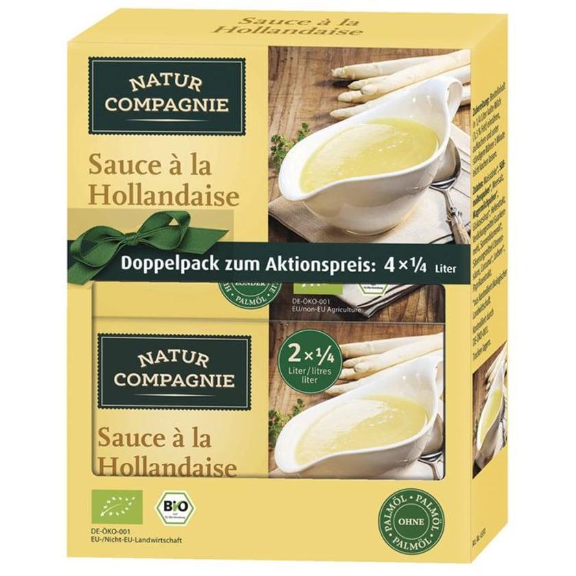 Natur Compagnie Doppelpack Sauce à la Hollandaise 92g Bio
