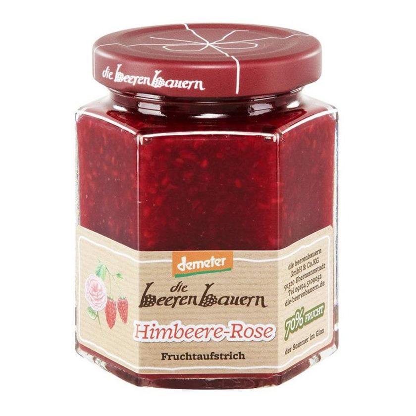 die beerenbauern Himbeere-Rose-Fruchtaufstrich 200g