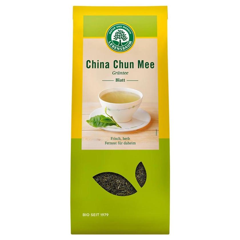 Lebensbaum Grüntee China Blatt 200g