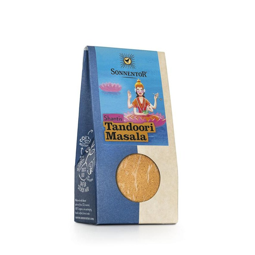 Sonnentor Shantis Tandoori Masala, Tüte 32g Bio