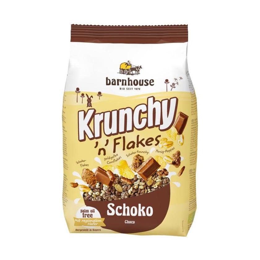 Barnhouse Krunchy 'n' Flakes Schoko 375g