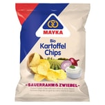 Mayka Kartoffel-Chips Sauerrahm & Zwiebel 70 g Bio 70g