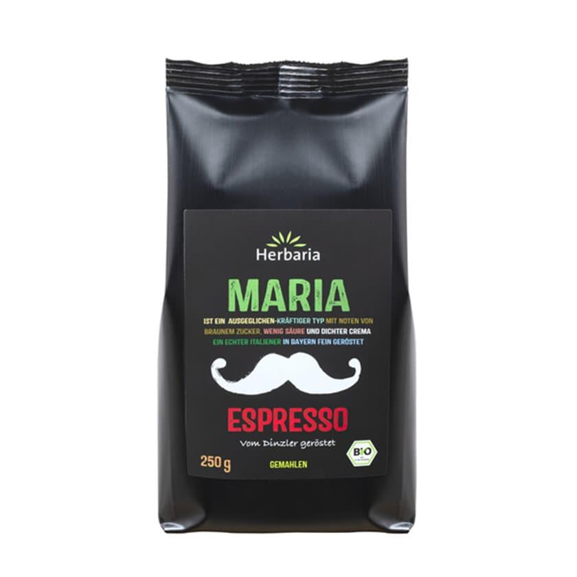 Herbaria Espresso Maria gemahlen 250g