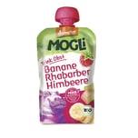 Mogli Trink Obst - Banane, Rhabarber, Himbeere 100g Bio