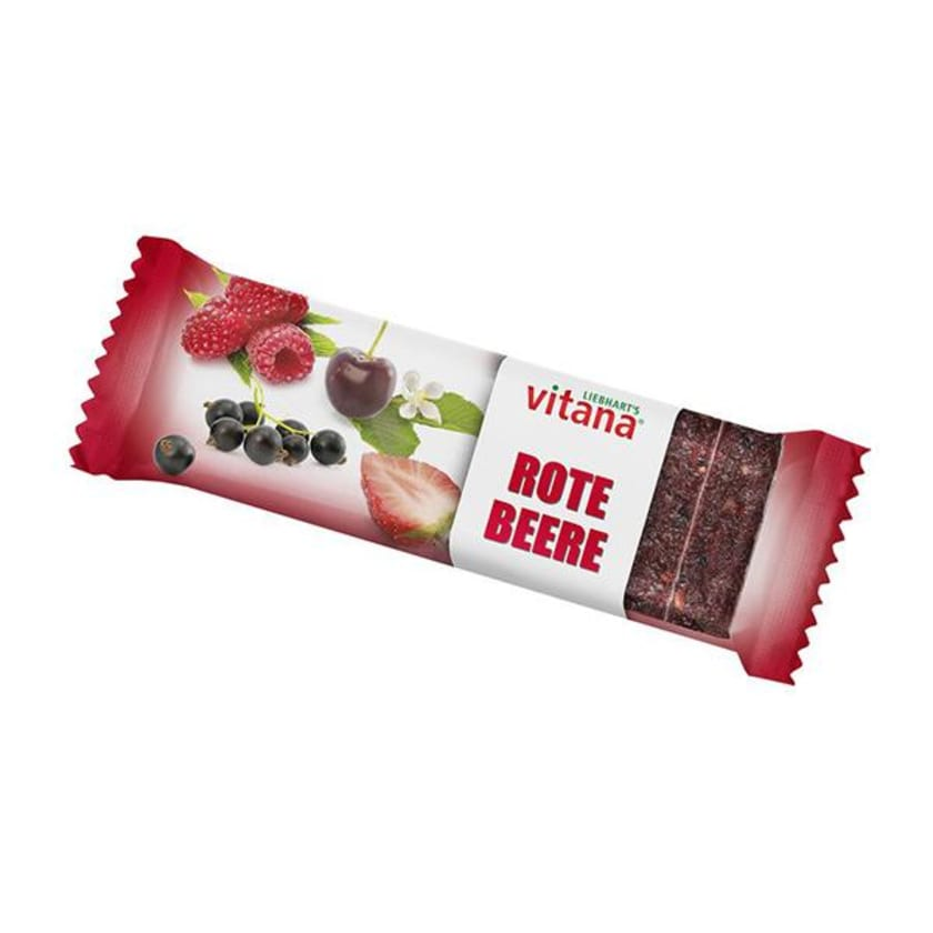 Vitana Fruchtschnitten Rote Beere 60g Bio