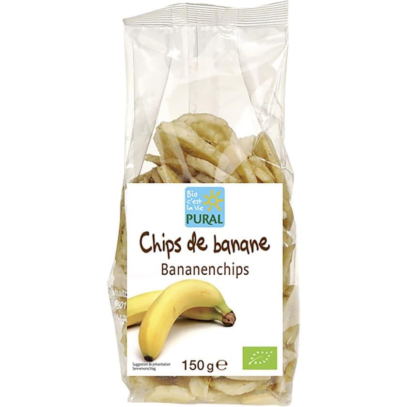 Pural Bananenchips 150g Bio