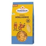 Sommer Bio Dinkel Rübli-Kekse 150g