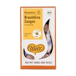 Werz Braunhirse-Zungen glutenfr 150g