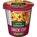 Natur Compagnie Veggie Rice Snack Cup 70g