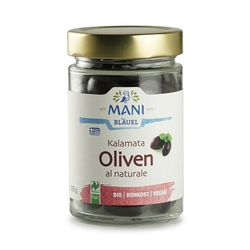 Mani Bläuel Kalamata Oliven al naturale 205g