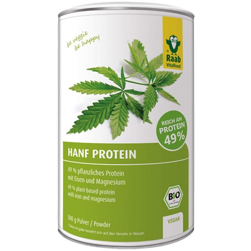 Raab Vitalfood BIO Hanf Protein Pulver 500g