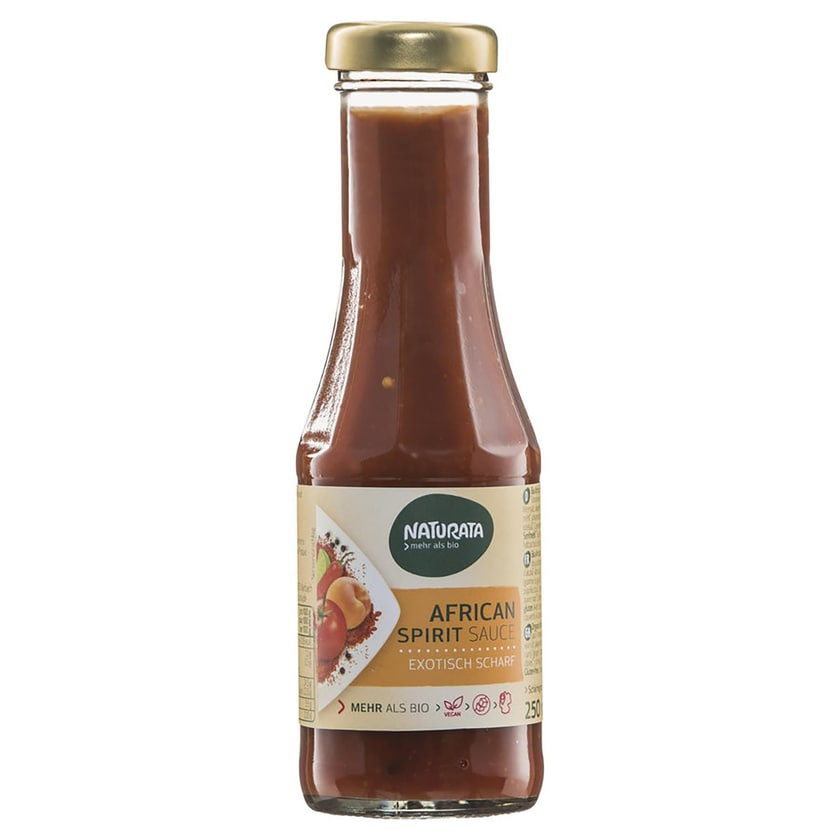 Naturata Bio African Spirit Sauce 250ml