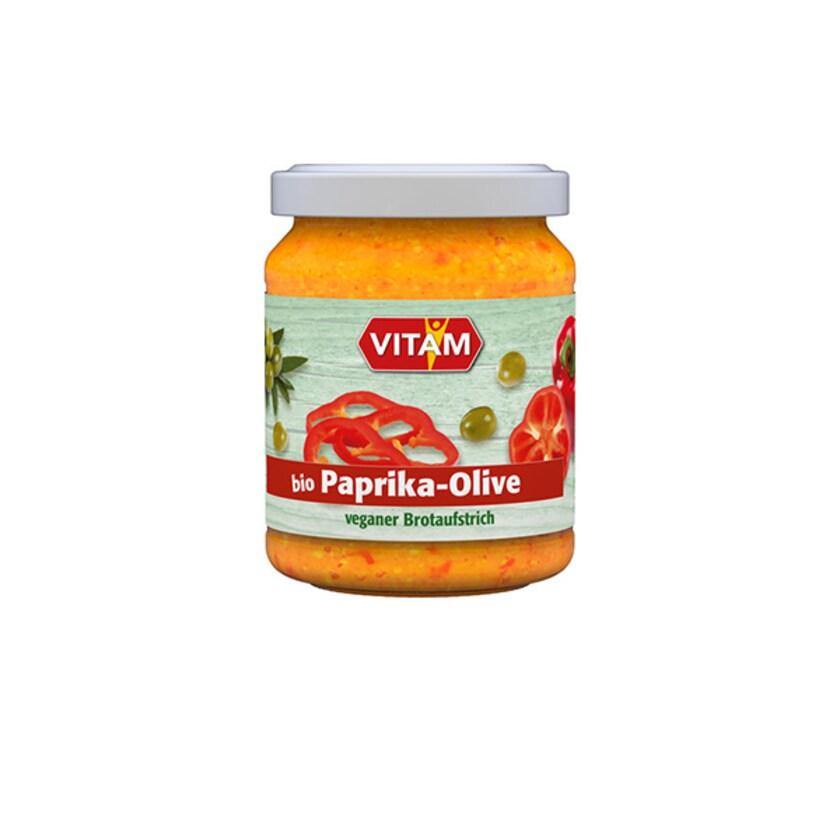 Vitam Bio Paprika-Olive-Aufstrich 110g