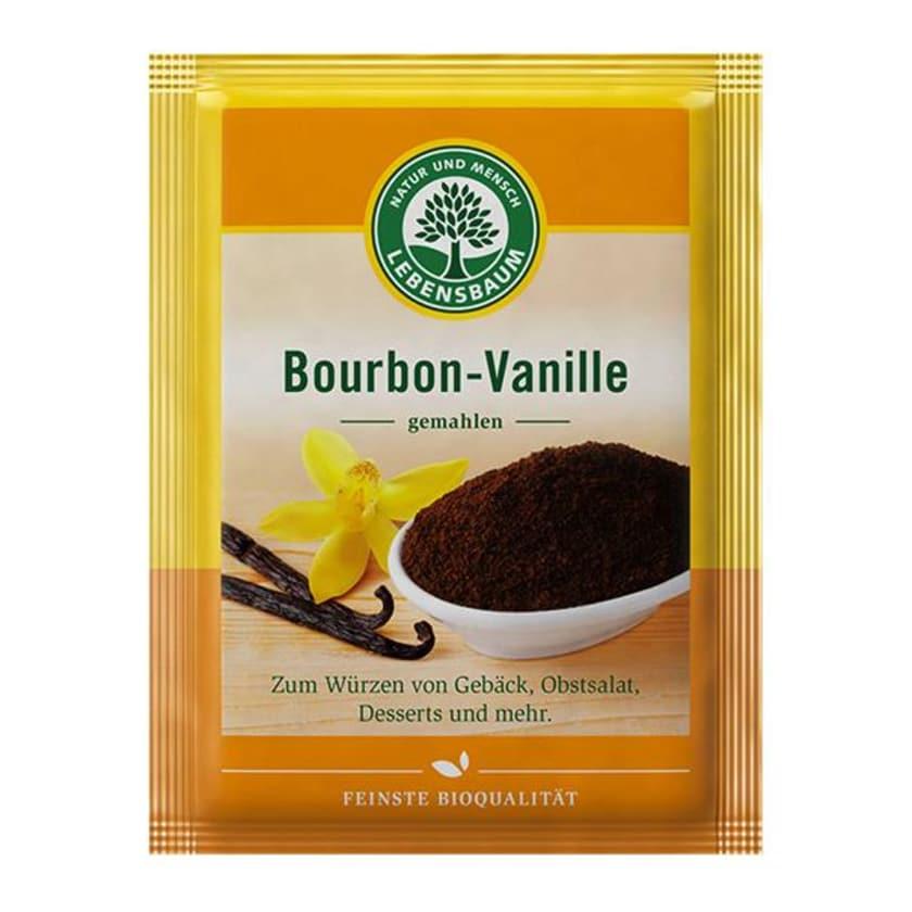 Lebensbaum Bourbon Vanille, gemahlen 5g