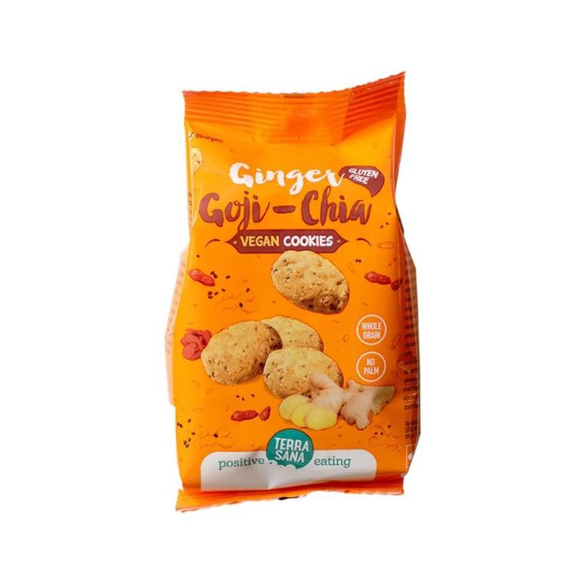 Terrasana Ingwer, Goji & Chia Cookies Vegan 150g