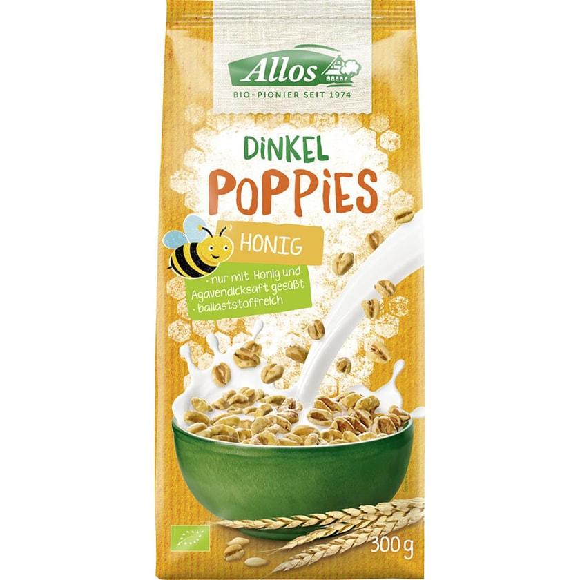 Allos Dinkel Honigpoppies 300g
