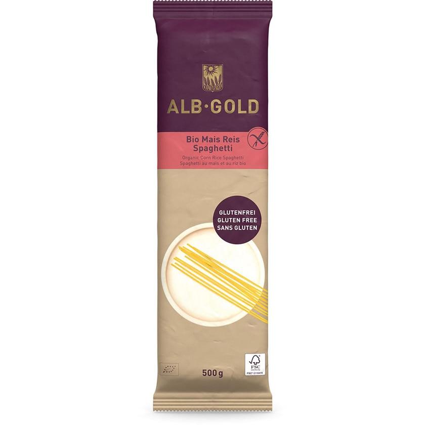 ALB-GOLD Mais Reis Spaghetti Papier 500g