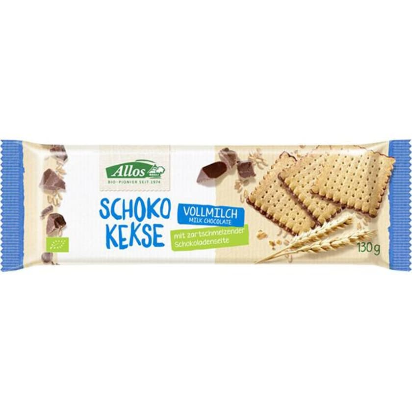Allos Choco Kekse Vollmilch 130g
