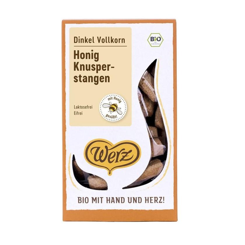 Werz Dinkel-VK-Honig-Stängeli Bio 125g