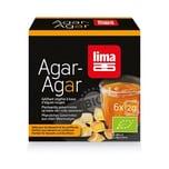 Lima Agar Agar Pulver 100% Bio 6x 2g