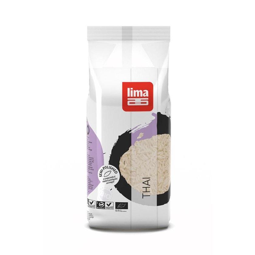 Lima Thai Reis Geschält 500g Bio