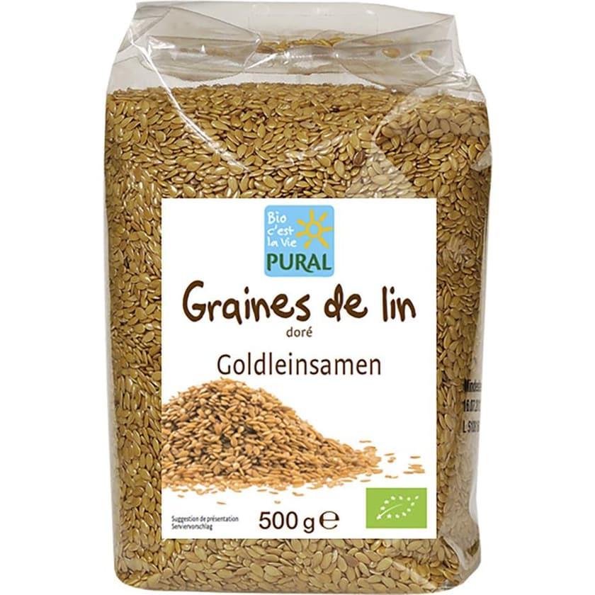 Pural Goldleinsamen 500g Bio