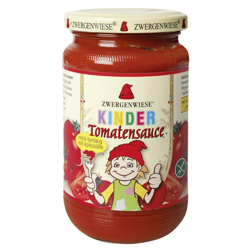 Zwergenwiese Bio Kinder Tomatensauce 340ml
