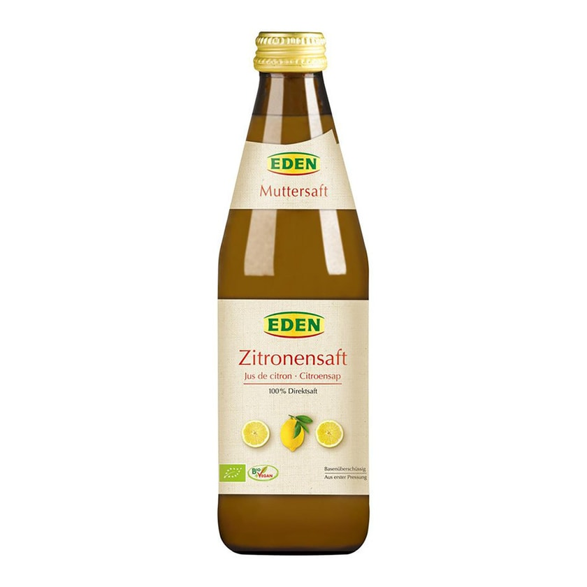 Eden Zitronensaft Muttersaft bio 330ml