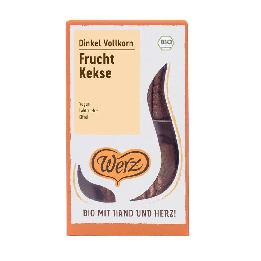 Werz Dinkel-VK-Frucht-Kekse ungesüßt Bio 125g