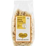 Werz Quinoa-Crunchy glutenfrei 250g Bio