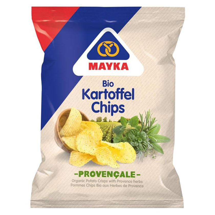 Mayka Kartoffel-Chips Provençale 70 g Bio 70g