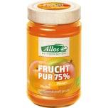 Allos Frucht Pur 75% Marille-Mango 250g Bio