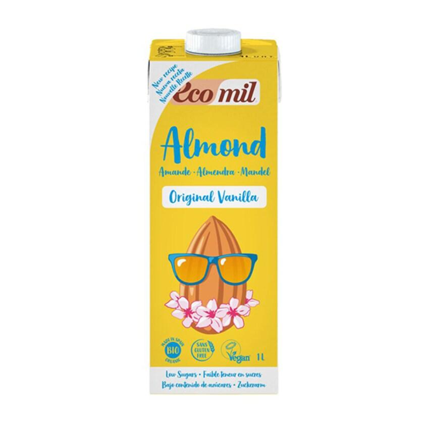 EcoMil Bio Mandeldrink Vanille 1l