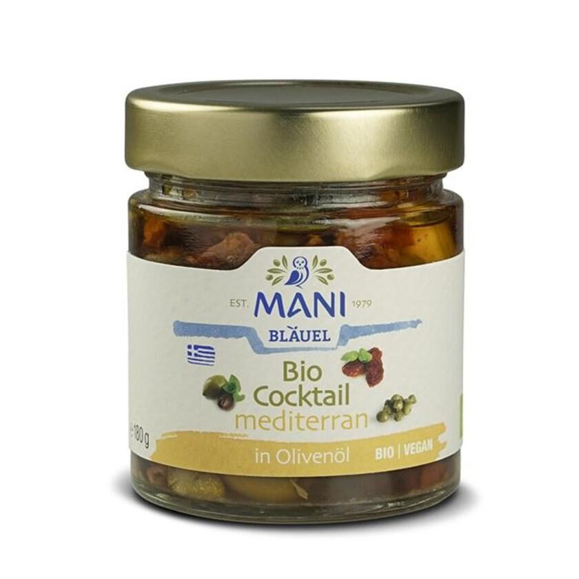 Mani Bläuel Bio Cocktail mediterran in Olivenöl 180g