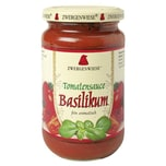 Zwergenwiese Bio Tomatensauce Basilikum 340ml