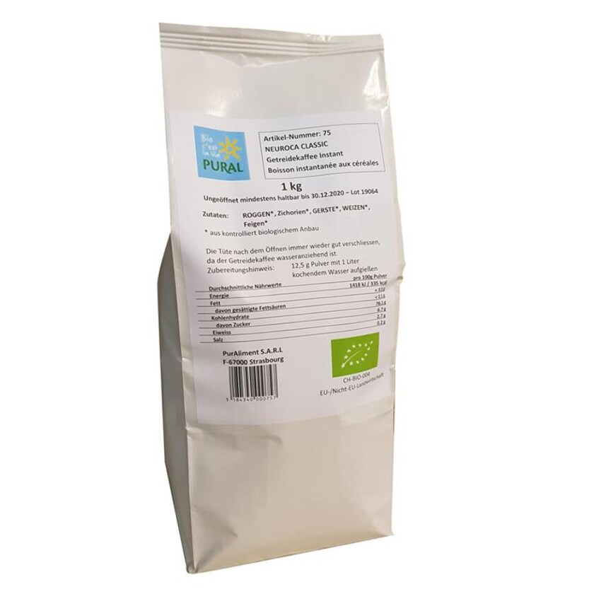 Pural Neuroca Getreide Kaffee lose Ware 1kg